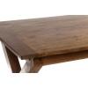 Τραπέζι τραπεζαρίας με προέταση σε φυσική απόχρωση 170(256)X90X76 Artekko 720-1063