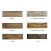 Φωτιστικό οροφής 2φωτο Industrial ξύλο/μέταλλο 23 Home Lighting No168